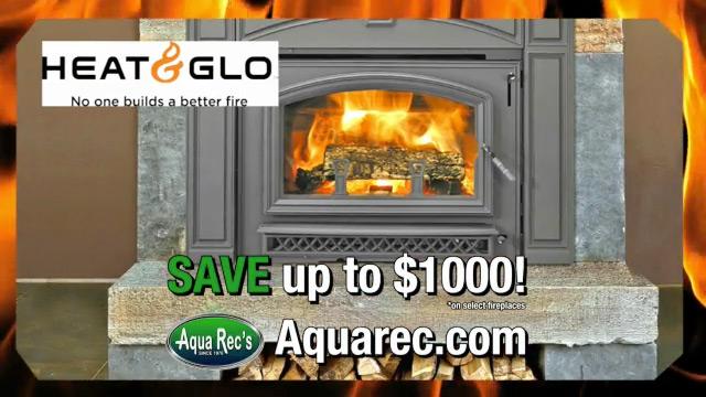 Aqua Req: Black Friday Fireplace