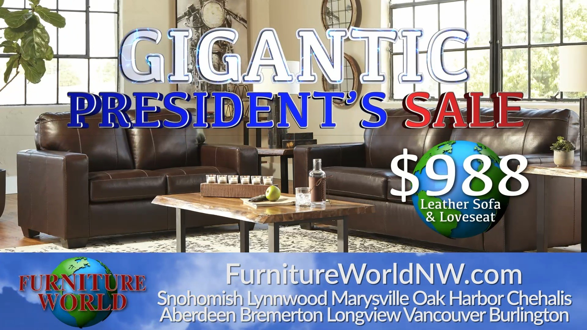 Furniture World: President's Sale