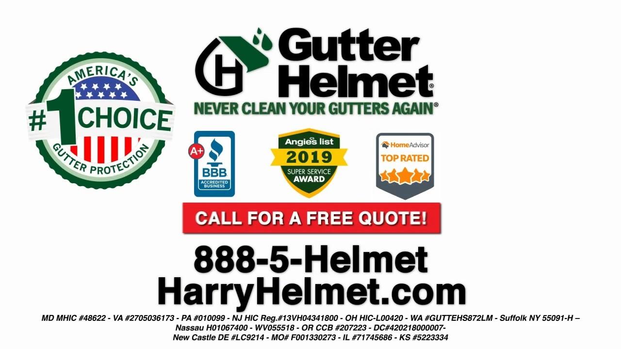 Gutter Helmet: Take a Look