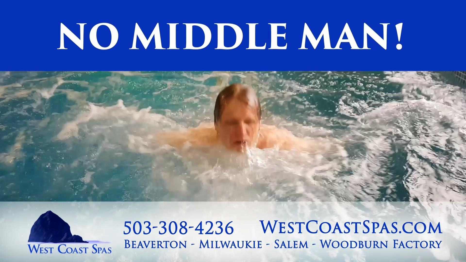 West Coast Spas: Swim Spas