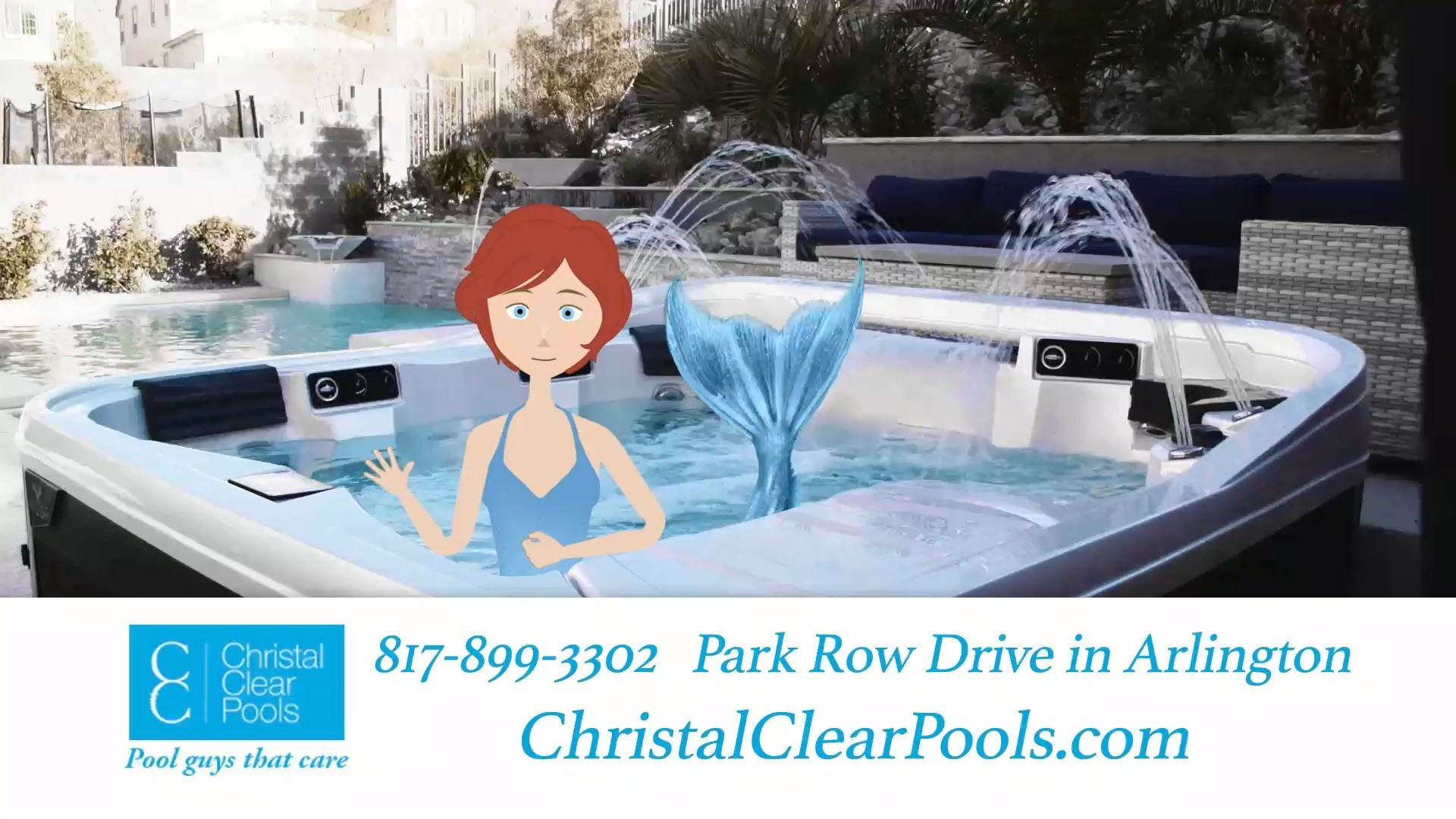 Christal Clear Pools: Tubs & Spas