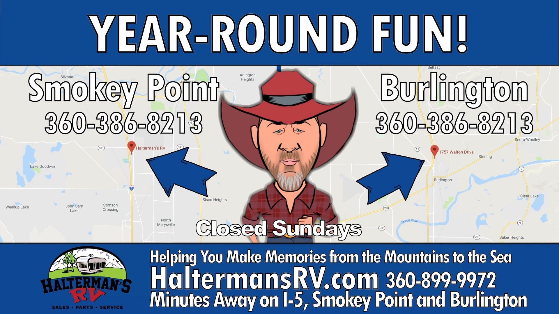 Haltermans RV: Year Round Fun