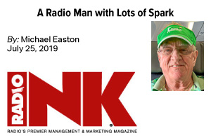 A Radio Man with Lots of Spark